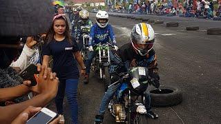 Latihan Bersama Drag Bike Sirkuit Mijen Semarang 3 April 2019