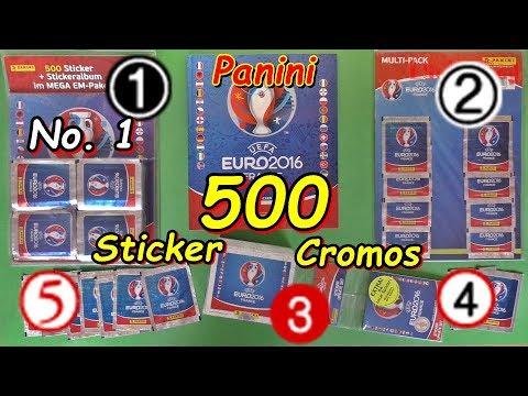 PANINI EM Euro France 2016-Sticker-Megapack