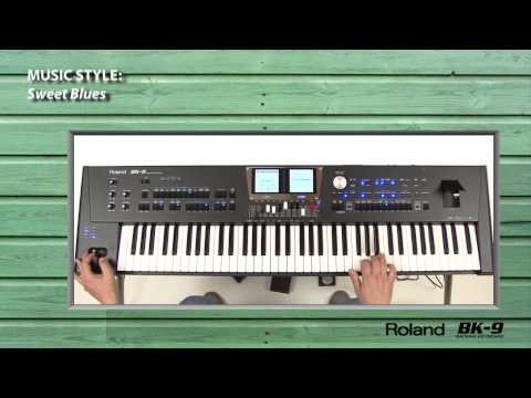 Famous musicians tested Roland BK-9. Part 8