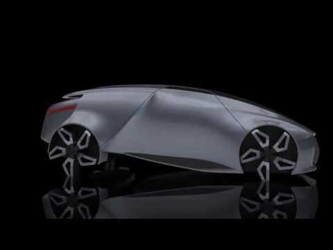 SAIC Roewe Concept Car - Royal College of Art, London