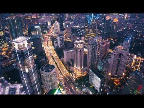 Mavic 2 Pro Jakarta 2019 Sunset Cityscape