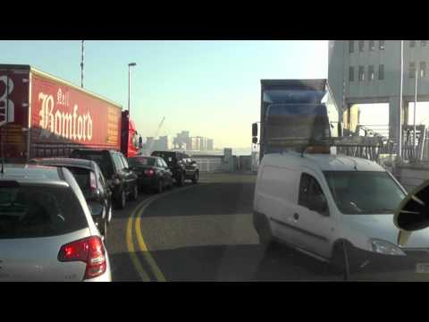 Mercedes Sprinter - The Woolwich Ferry