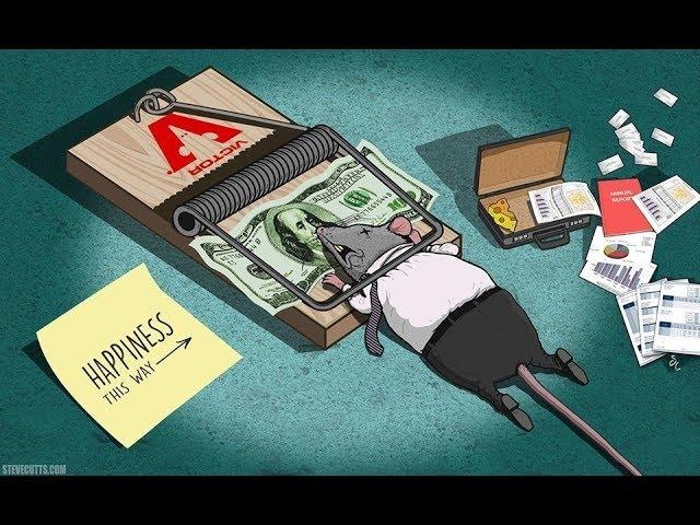 Steve Cutts: Štestí - krátký animovaný snímek