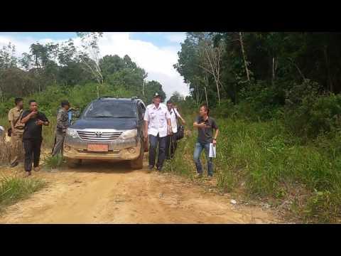 Kunjungan Kerja Bupati Sintang ke Kecamatan Serawai