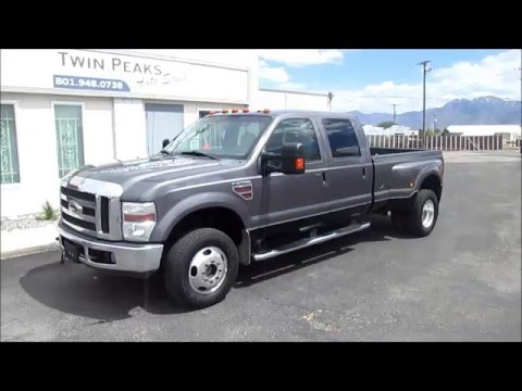 2008 Ford F350 Crew Cab Diesel For Sale