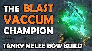 Path of Exile: THE BLAST VACUUM 3000A - Melee Blast Rain Duelist Champion (Budget, Hardcore & Fun!)