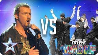 Jai McDowall vs Diversity | Britain's Got Talent World Cup 2018