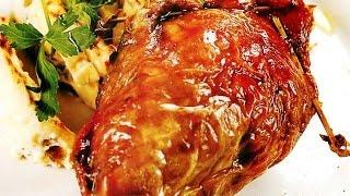 Голень индейки! - Простые вкусные домашние видео рецепты блюд