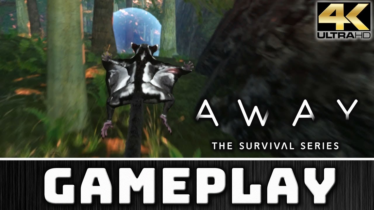 AWAY: The Survival Serie: Gilding Prototype | 4K Gameplay on 2080 Ti
