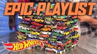 Wind, Water, Wheels! | The Epic Playlist | Hot Wheels
