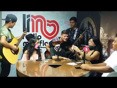 entrevista radio MirafloresMelannie,Gabriel y Angelo