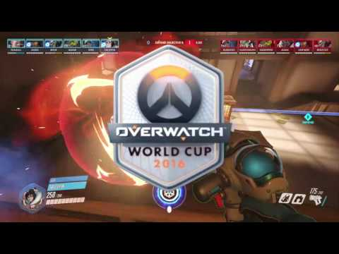 Overwatch World Cup 2016   Russia vs United States