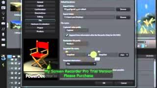 درس 10 - دورة تعلم برنامج مونتاج الاعراس - Cyberlink PowerDirector 10 Ultra