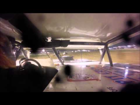 Stock Car B-Main #1 Mercer Raceway Park 9/25/15 IN-CAR