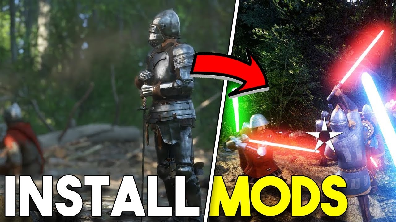 How To Install Mods In Kingdom Come Deliverance! - YouTube