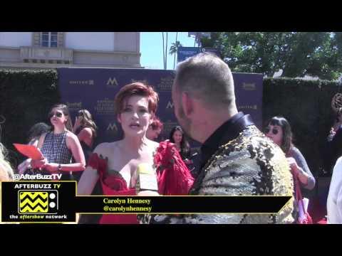 Carolyn Hennesy at the Daytime Emmy Awards 2017