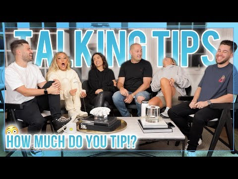 WHO'S THE BEST TIPPER?   LET'S TALK ABOUT IT