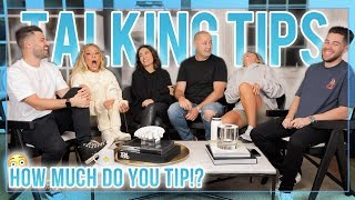 WHO'S THE BEST TIPPER? | LET'S TALK ABOUT IT
