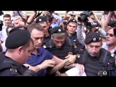 Задержание Навального 10 июля 2013 года