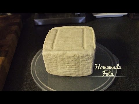 Making Feta Style Cheese with Cows Milk