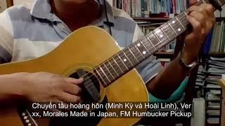 Chuyến tầu hoàng hôn (Minh Kỳ & Hoài Linh), Morales guitar Bolero Ver 3.xx  - Vlog #350