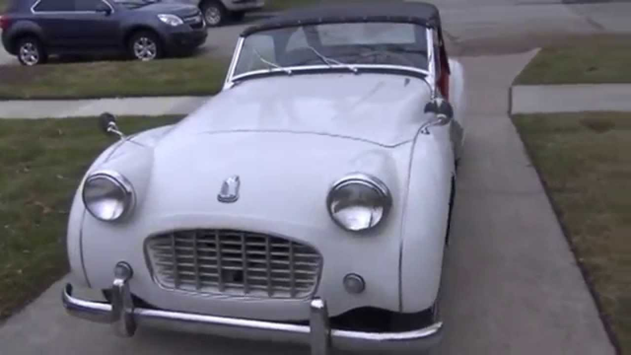 1957 Triumph Tr3 For Sale On Ebay Youtube