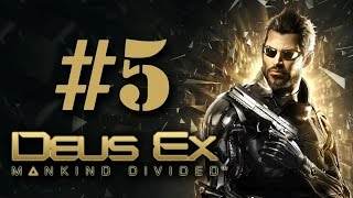 Прохождение Deus Ex: Mankind Divided на русском - часть 5 - Истина рядом