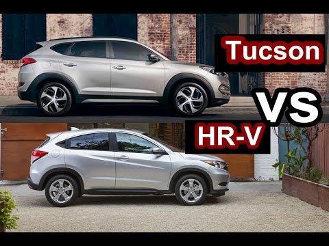 2016 Hyundai Tucson VS 2016 Honda HR V DESIGN