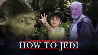 Action Movie Kid Learns How to Jedi