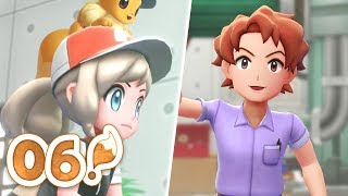Pokémon Let's Go Eevee Let's Play - Part 06 | BILL HAD THE GLOW UP!