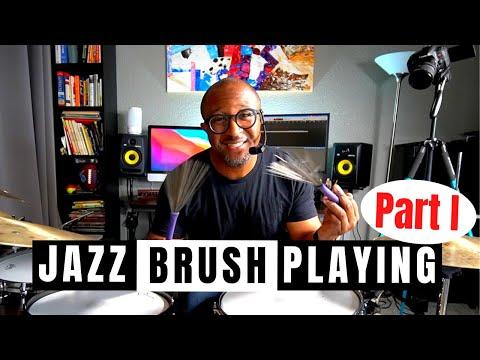Q-Tip Jazz Drummer Lesson of the Week: Brush Essentials!