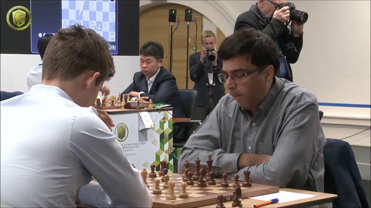 Download GM Carlsen (Norway) - GM Anand (India) 5 min + PGN (Rapid)