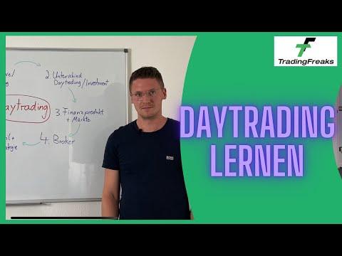 Daytrading lernen: 6 erste Schritte und Kategorien für Anfänger
