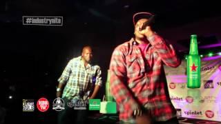 "#industrynite Khaligraph Jones performs ""YEGO"" #NairobiMassive"