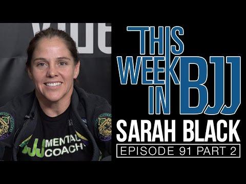 TWIBJJ Ep 91 - Sarah Black - Part 2 of 2 - Judo grip fighting for BJJ, Drop Seoi Nage