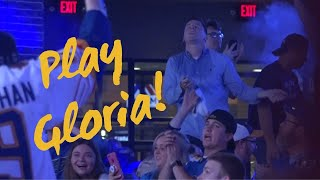 St. Louis Blues fans sing 'Gloria' and dance after clinching spot in Stanley Cup Final