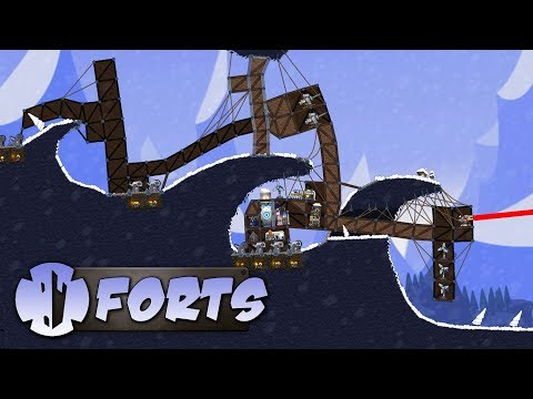 The FORTS WORST Base CHALLENGE! - Forts Multiplayer Gameplay