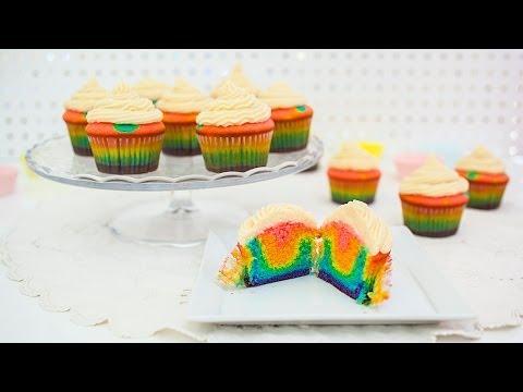 Rainbow Cupcakes (Regenbogen Cupcakes)
