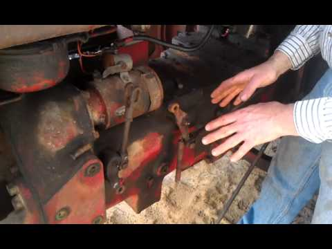 Farmall H Wiring Diagram For 6 Volt How To Adjust The Farmall Torque Amplifier Youtube