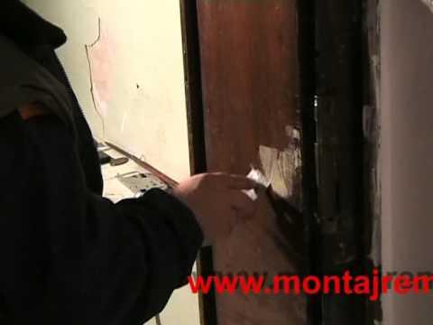 Облепване с фолио на врата