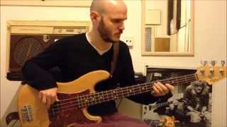 Mark Ronson ft. Bruno Mars - Uptown Funk - Bass Cover +  tutorial