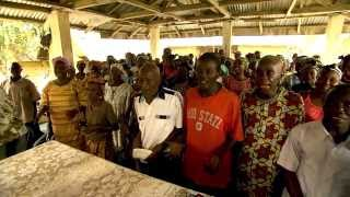Nets Draw New People to Church in Sierra Leone