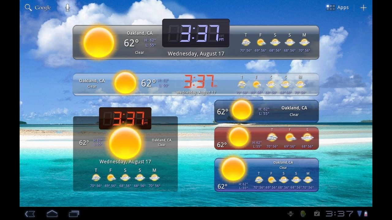 How to add and remove widgets on your Android Tablet or ...