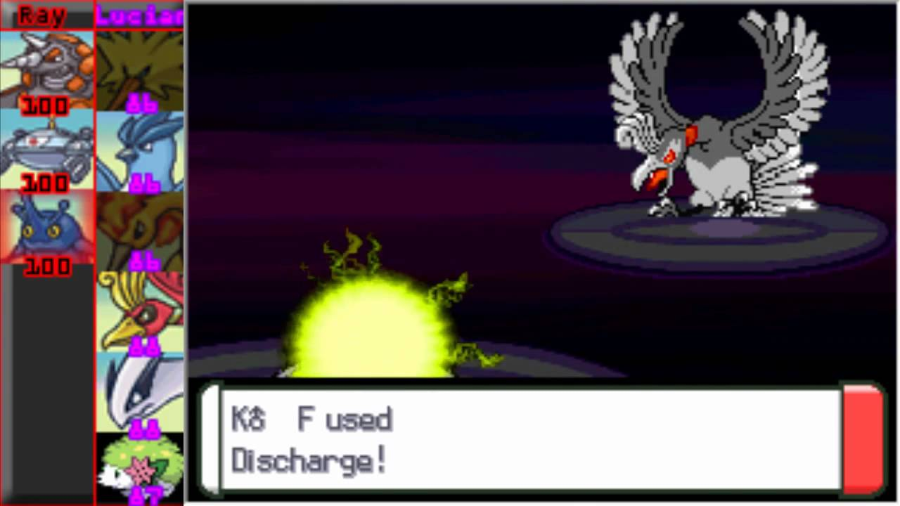 Lets Play Pokemon Bloody Platinum Part 54 Vs Shadow Ho-oh ...