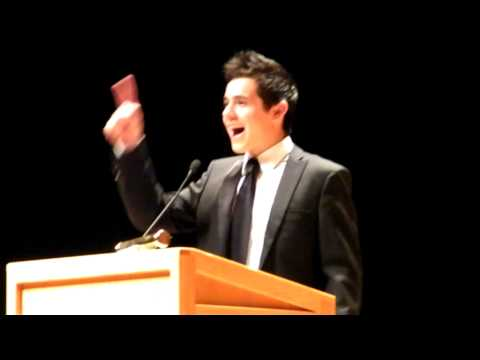 David Archuleta singing O Holy Night @ Utah Women's Conference 10-26-09 (Part 6 of 6)