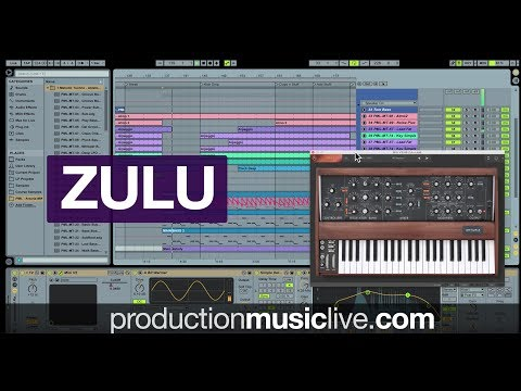 How To Make Zulu (Stephan Bodzin, Analog Techno, Ableton, Arturia MINI V3) 4K