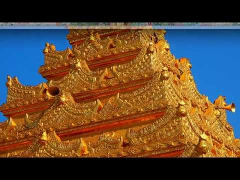 Amazing Golden Temple Mandalay - The Second Largest City Part III