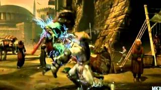 Mortal Kombat X- Raiden Official Trailer أجدد لعبة في عام 2015-2016