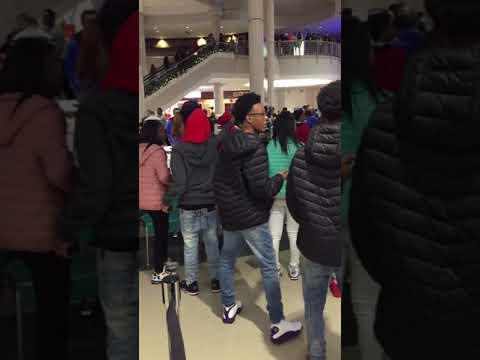 Circle Centre Mall Fight