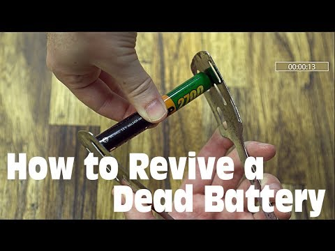 How to Revive a Dead (AA/AAA) Battery